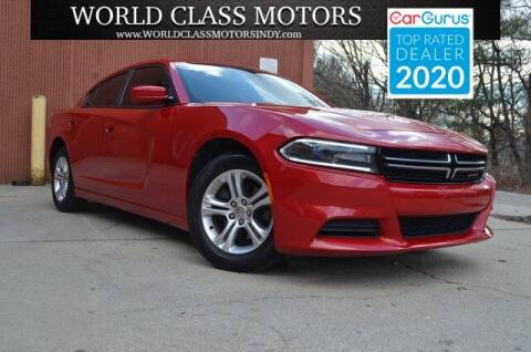 2015 Dodge Charger for sale at World Class Motors LLC in Noblesville IN