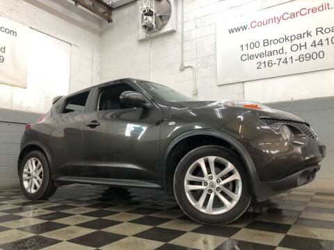 2012 Nissan JUKE for sale at County Car Credit in Cleveland OH