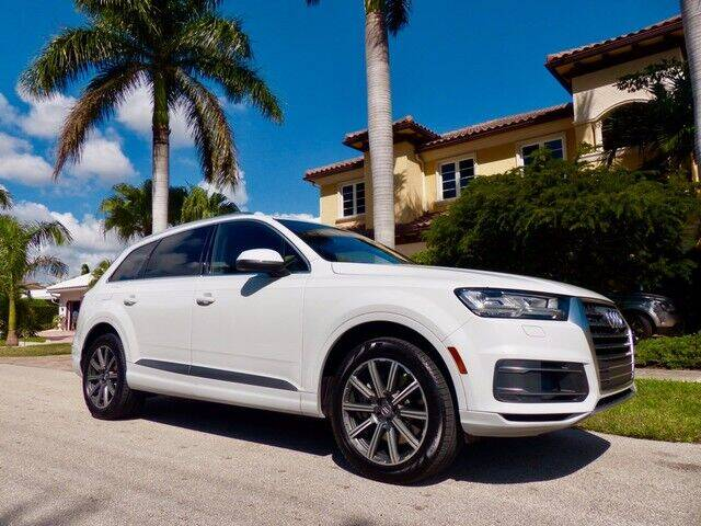 2017 Audi Q7 for sale at Lifetime Automotive Group in Pompano Beach FL
