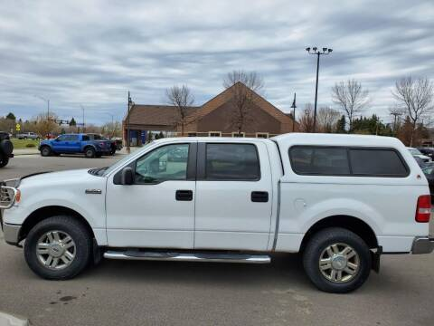2008 Ford F-150 for sale at ROSSTEN AUTO SALES in Grand Forks ND