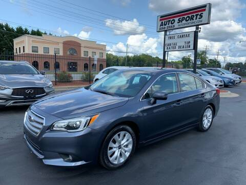 2016 Subaru Legacy for sale at Auto Sports in Hickory NC