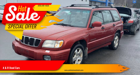 2001 Subaru Forester for sale at A & R Used Cars in Clayton NJ