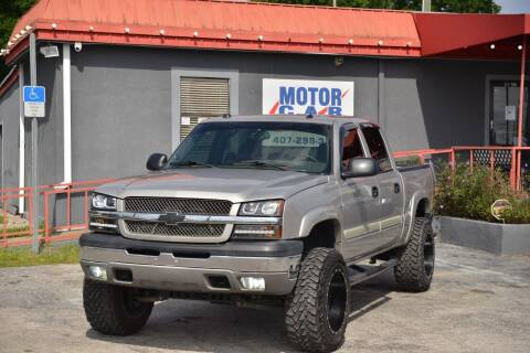 2005 Chevrolet Silverado 1500 for sale at Motor Car Concepts II - Kirkman Location in Orlando FL