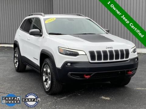 2019 Jeep Cherokee for sale at Bankruptcy Auto Loans Now - powered by Semaj in Brighton MI