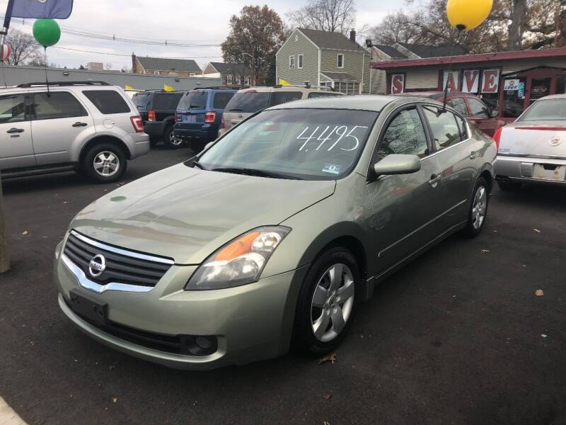 2008 Nissan Altima for sale at BIG C MOTORS in Linden NJ