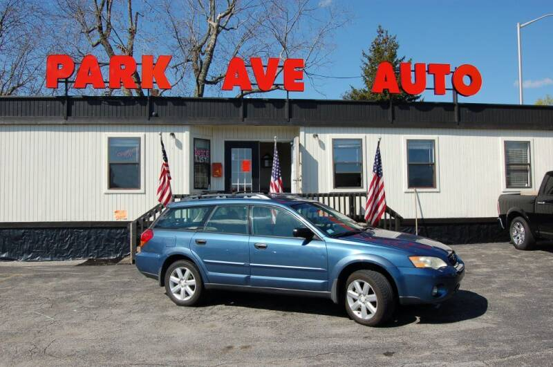 2007 Subaru Outback for sale at Park Ave Auto Inc. in Worcester MA