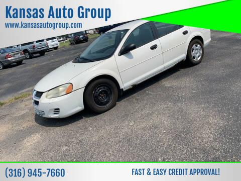 2004 Dodge Stratus for sale at Kansas Auto Group in Wichita KS