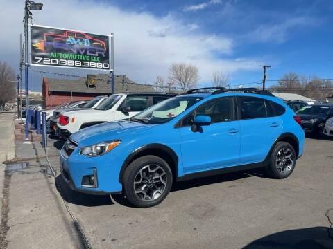 2016 Subaru Crosstrek for sale at AWD Denver Automotive LLC in Englewood CO