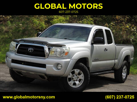 2006 Toyota Tacoma for sale at GLOBAL MOTORS in Binghamton NY