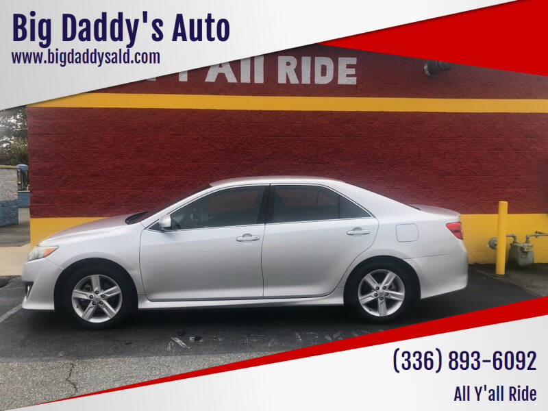 2013 Toyota Camry for sale at Big Daddy's Auto in Winston-Salem NC