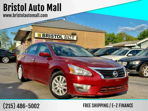 2015 Nissan Altima for sale at Bristol Auto Mall in Levittown PA