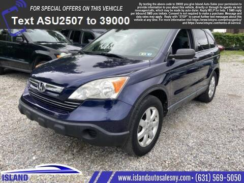 2008 Honda CR-V for sale at Island Auto Sales in East Patchogue NY