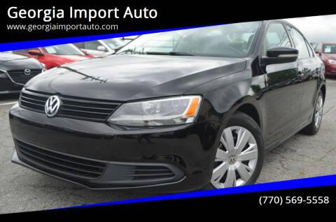 2014 Volkswagen Jetta for sale at Georgia Import Auto in Alpharetta GA