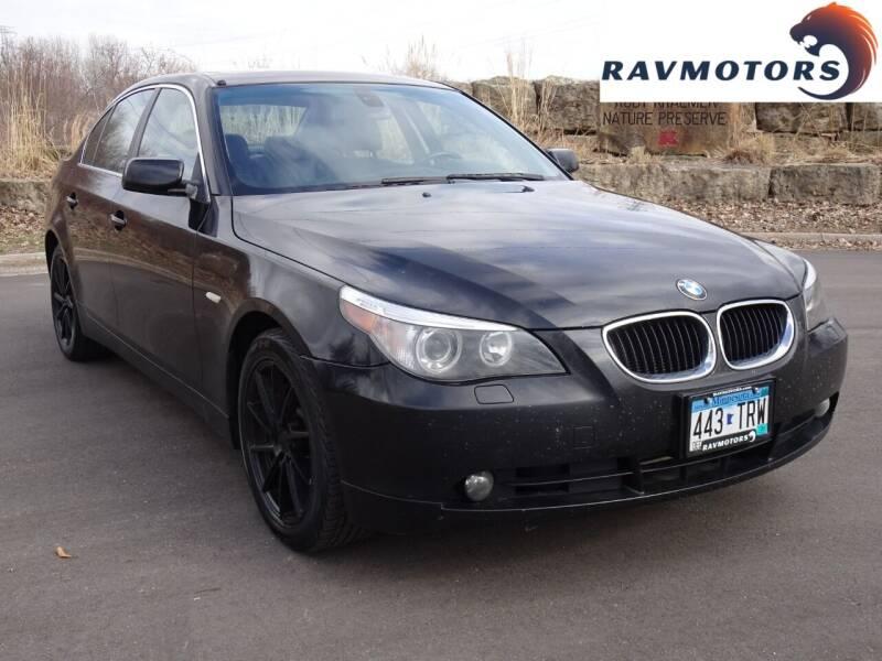 2006 BMW 5 Series for sale at RAVMOTORS in Burnsville MN