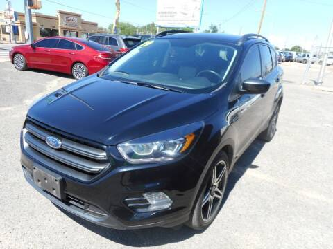 2019 Ford Escape for sale at AUGE'S SALES AND SERVICE in Belen NM