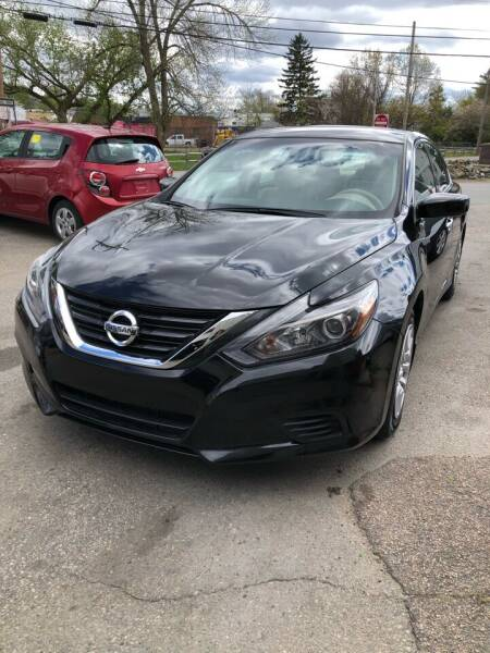 2017 Nissan Altima for sale at Jimmys Auto Sales in North Providence RI