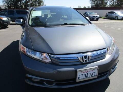 2012 Honda Civic for sale at F & A Car Sales Inc in Ontario CA