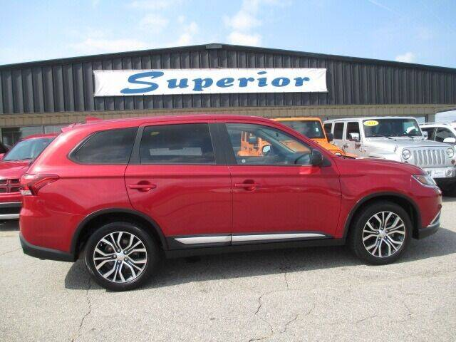 2017 Mitsubishi Outlander for sale at SUPERIOR CHRYSLER DODGE JEEP RAM FIAT in Henderson NC