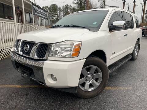 2007 Nissan Armada for sale at Georgia Car Shop in Marietta GA