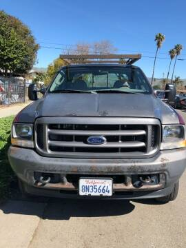 2004 Ford F-250 Super Duty for sale at RAJ Auto Repair & Sales in San Jose CA