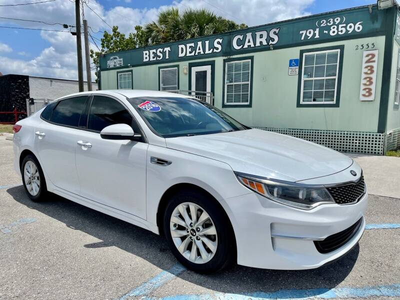 2016 Kia Optima for sale at Best Deals Cars Inc in Fort Myers FL