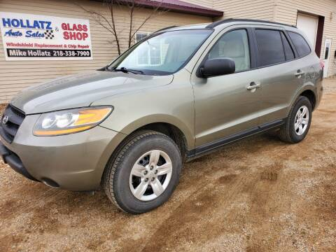 2009 Hyundai Santa Fe for sale at Hollatz Auto Sales in Parkers Prairie MN