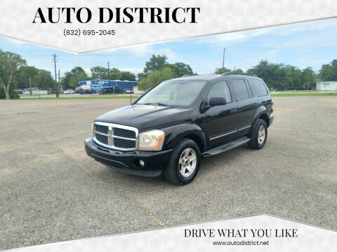 2004 Dodge Durango for sale at Auto District in Baytown TX