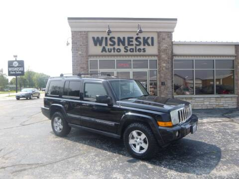 2007 Jeep Commander for sale at Wisneski Auto Sales, Inc. in Green Bay WI