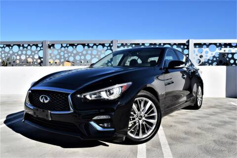 2018 Infiniti Q50 for sale at Dino Motors in San Jose CA