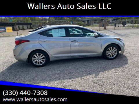 2015 Hyundai Elantra for sale at Wallers Auto Sales LLC in Dover OH