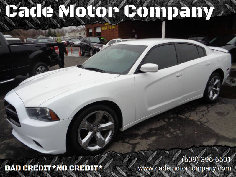 2014 Dodge Charger for sale at Cade Motor Company in Lawrenceville NJ