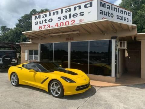 2015 Chevrolet Corvette for sale at Mainland Auto Sales Inc in Daytona Beach FL
