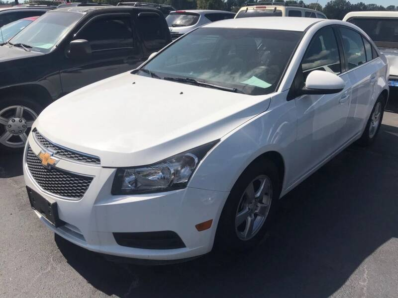 2014 Chevrolet Cruze for sale at Sartins Auto Sales in Dyersburg TN