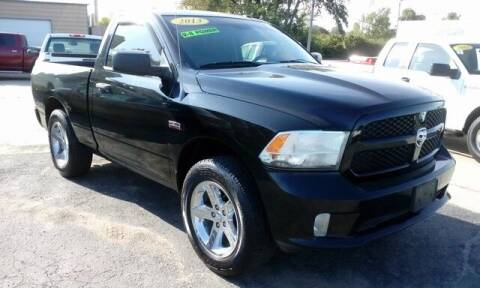 2013 RAM Ram Pickup 1500 for sale at Jim Clark Auto World in Topeka KS