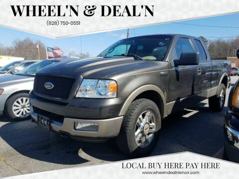 2005 Ford F-150 for sale at Wheel'n & Deal'n in Lenoir NC