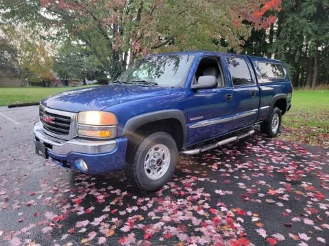 2004 GMC Sierra 2500 for sale at Blue Lake Auto & RV Repair Inc in Fairview OR