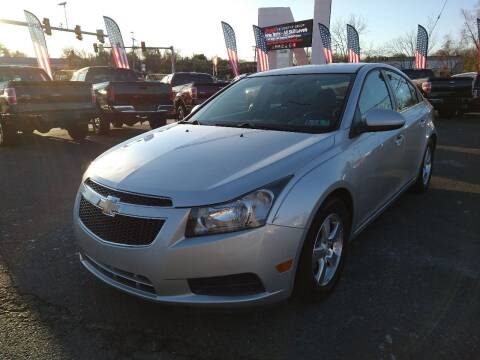2013 Chevrolet Cruze for sale at P J McCafferty Inc in Langhorne PA