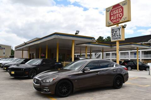 2015 Infiniti Q50 for sale at Houston Used Auto Sales in Houston TX