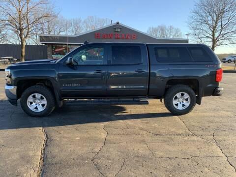 2018 Chevrolet Silverado 1500 for sale at Hawkins Motors Sales in Hillsdale MI