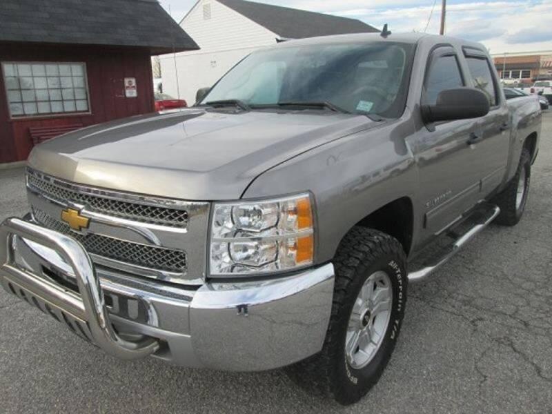 2012 Chevrolet Silverado 1500 for sale at Wally's Wholesale in Manakin Sabot VA