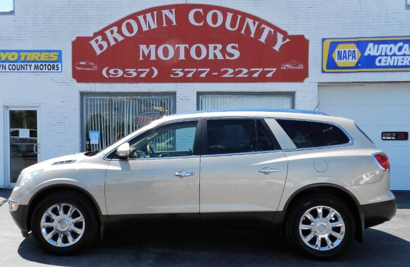 2012 Buick Enclave for sale at Brown County Motors in Russellville OH