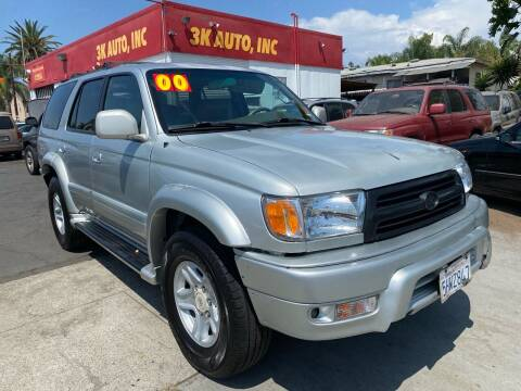 2000 Toyota 4Runner for sale at 3K Auto in Escondido CA