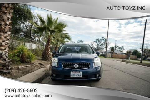 2009 Nissan Sentra for sale at Auto Toyz Inc in Lodi CA