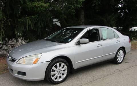 2007 Honda Accord for sale at B & C Northwest Auto Sales in Olympia WA