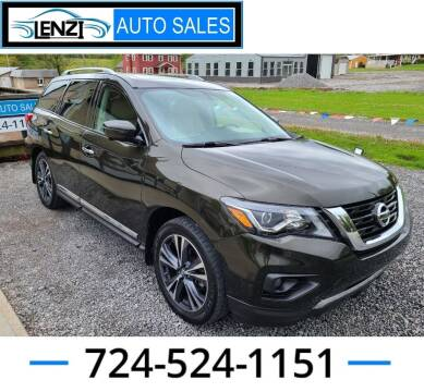 2017 Nissan Pathfinder for sale at LENZI AUTO SALES in Sarver PA