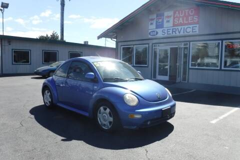 2000 Volkswagen New Beetle for sale at 777 Auto Sales and Service in Tacoma WA