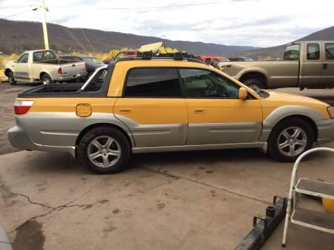 2003 Subaru Baja for sale at Troys Auto Sales in Dornsife PA
