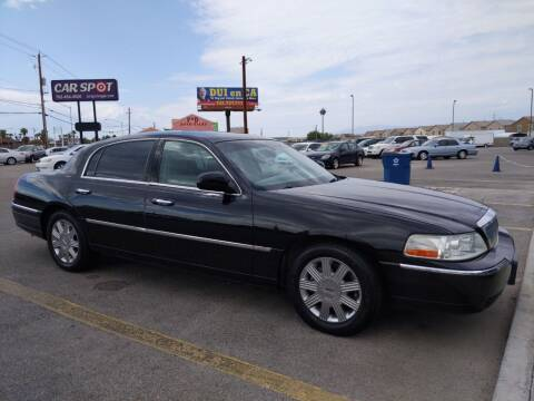 2004 Lincoln Town Car for sale at Car Spot in Las Vegas NV