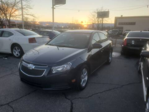 2014 Chevrolet Cruze for sale at J & J Used Cars inc in Wayne MI