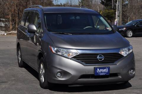 2013 Nissan Quest for sale at Amati Auto Group in Hooksett NH